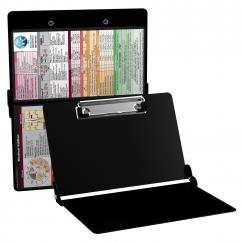 WhiteCoat Clipboard - BLACK - Medical Edition