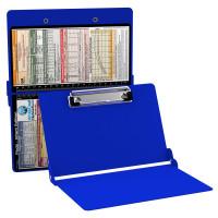 WhiteCoat Clipboard - BLUE - Pediatric Infant Edition