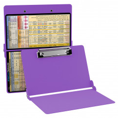 WhiteCoat Clipboard - LILAC - Anesthesia Edition