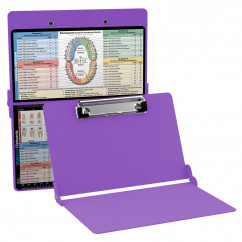 WhiteCoat Clipboard - LILAC - Dental Edition