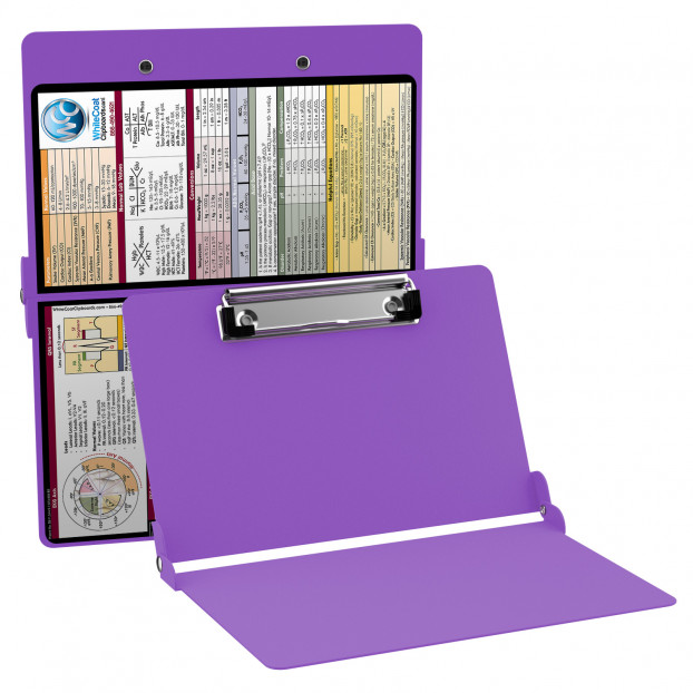 WhiteCoat Clipboard - LILAC - Medical Edition - Slightly Damaged