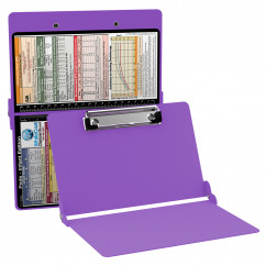 WhiteCoat Clipboard - LILAC - Pediatric Infant Edition