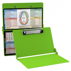 WhiteCoat Clipboard - LIME GREEN - Dental Edition