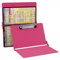 WhiteCoat Clipboard - PINK - Anesthesia Edition