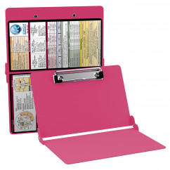 WhiteCoat Clipboard - PINK - Medical Edition - Slightly Damaged