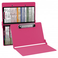 WhiteCoat Clipboard - PINK - Pharmacy Edition - Slightly Damaged