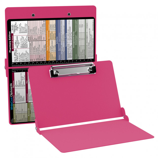 WhiteCoat Clipboard - PINK - Pharmacy Edition