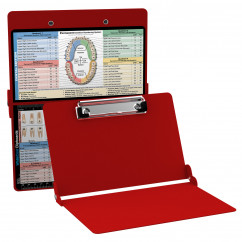 WhiteCoat Clipboard - RED - Dental Edition