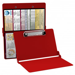 WhiteCoat Clipboard - RED - Metric Medical Edition