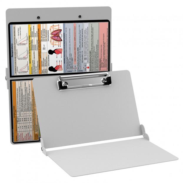 WhiteCoat Clipboard - WHITE - Respiratory Edition