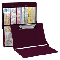 WhiteCoat Clipboard - WINE - Metric Medical Edition