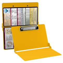 WhiteCoat Clipboard - YELLOW - Medical - Slightly Damaged