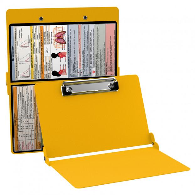 WhiteCoat Clipboard - YELLOW - Respiratory Edition