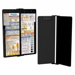 WhiteCoat Clipboard - Vertical - Blackout - EMT Edition