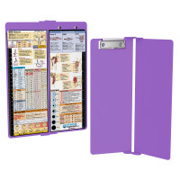 WhiteCoat Clipboard - Vertical - Lilac - Nursing Edition