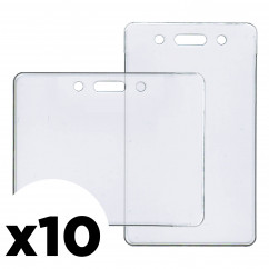 ID Badge Holder 10-Pack