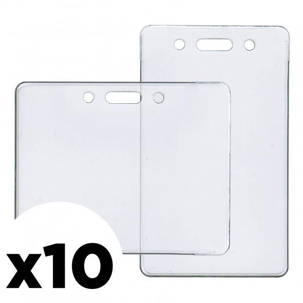 ID Badge Holder 10-Pack