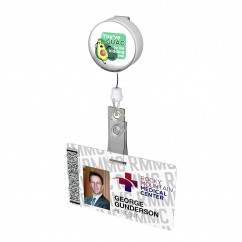 Guac to be Kiddin' Me Button Badge Reel