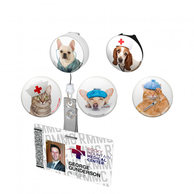 Cats and Dog Button Variety Pack