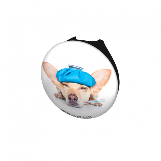 Sick ChihuahuaStethoscope Button