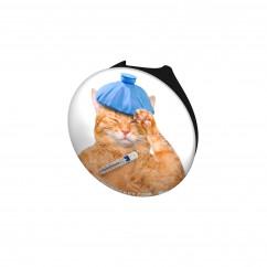 Sick Kitty Stethoscope Button