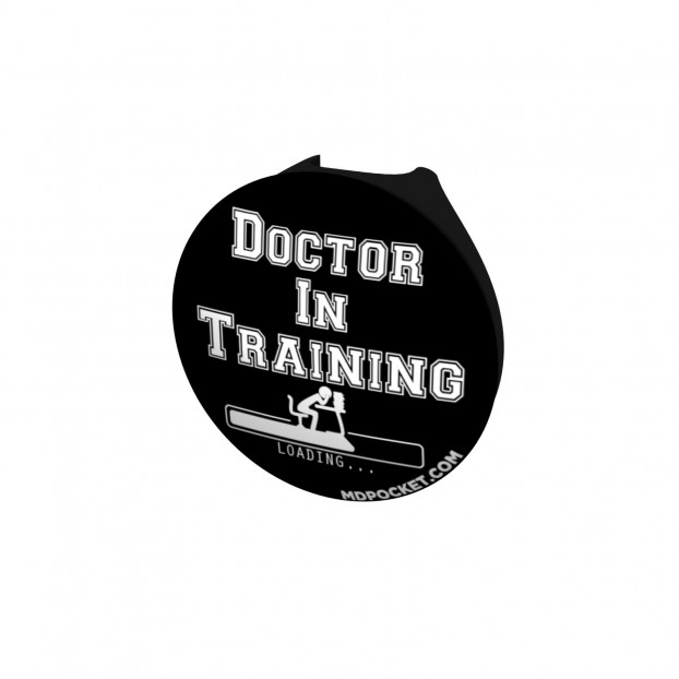 Doctor in Training Stethoscope Button