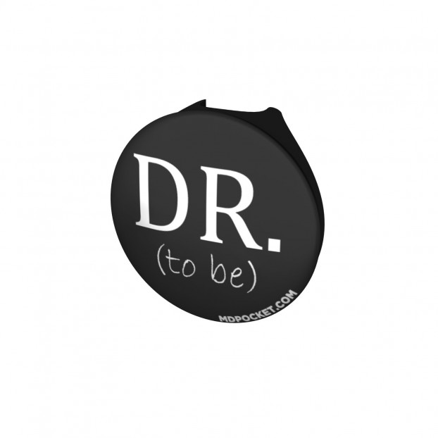Dr. To Be Button Stethoscope Button