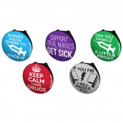 Saucy Nurse Stethoscope Button Pack