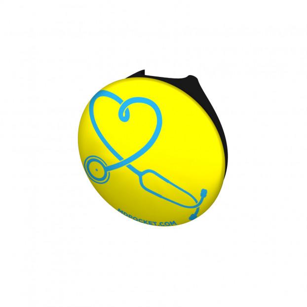 Stethoscope Heart Stethoscope Button