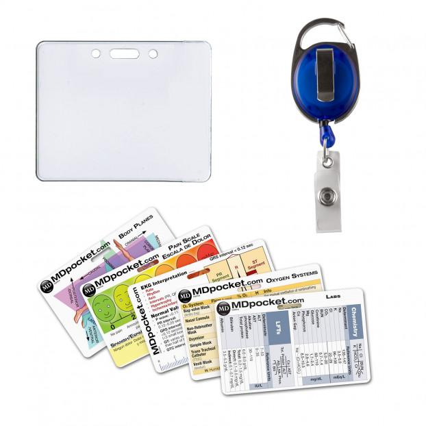 Rapid ID Badge Reel Nurse Pack