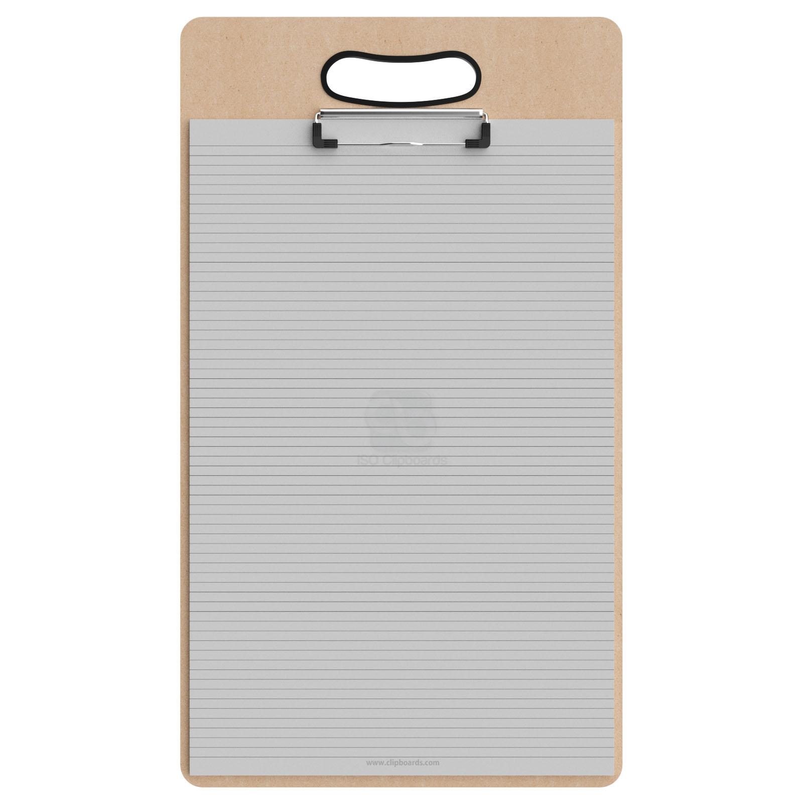 Ledger Card Holder : Ledger size vertical mdf handle clipboard